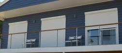 Window blinds. South Coast